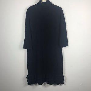 London Times Black Sweater Dress